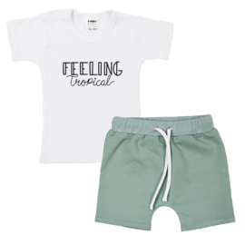 Shirt Feeling Tropical | Shorts with strings | 7 Colors