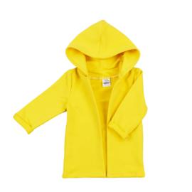 Hoodie Cardigan | Sunny Yellow | Handmade