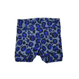 SS | Zwemshorts | Leopard Royal Blue | 62/68