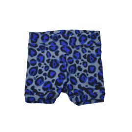 Baby Swimmingpants | Leopard Royal Blue | Handmade