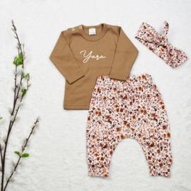 Outfit Deal   Naamshirt & Harembroekje Autumn
