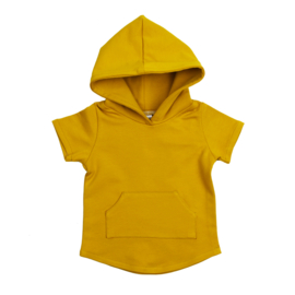 Hoodie | Short Sleeve | Mellow Yellow