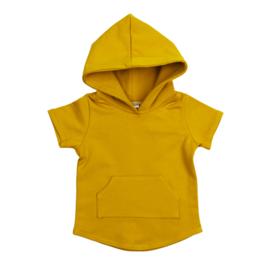 Hoodie | Short Sleeve | Mellow Yellow