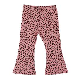 Flared Pants | Leopard Rose | Handmade