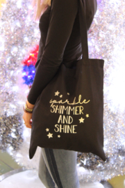 Canvas tas | Sparkle, Shimmer & Shine