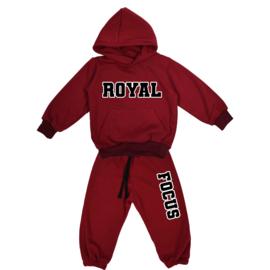 Royal Focus Set | Hoodie | Oversized | 9 Kleuren