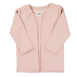 Long Cardigan | Blush | Also with hoodie option