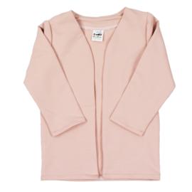 Lang Vest | Blush | Óók met hoodie verkrijgbaar