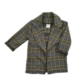 Blazer | Checkered Ochre | Handmade
