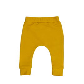 Slim fit broekje | Mellow Yellow | Handmade