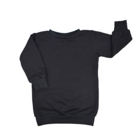 Baggy Sweaterdress | Black | Handmade