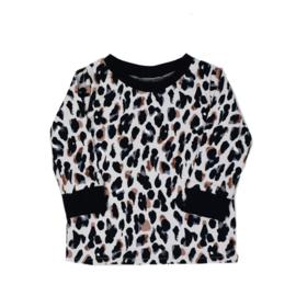 Long Sleeve - Summer Leopard - Handmade
