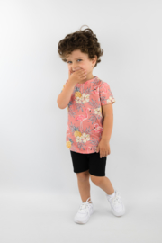 Set Shirt & Shorts | Flamingo | Black | SPECIAL EDITION
