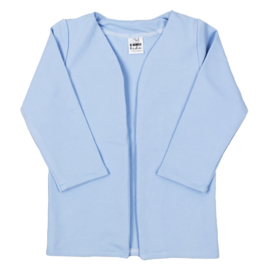 Long Cardigan | Powder Blue | Also with hoodie option