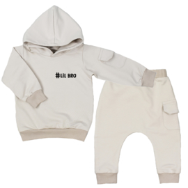 Hoodie suit with cargopocket | # Own Text | 7 Colours