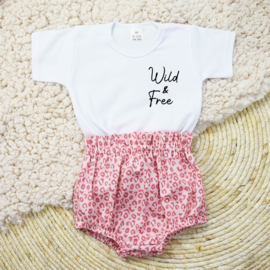 Shirt Wild & Free | Bloomer | Leopard Pink