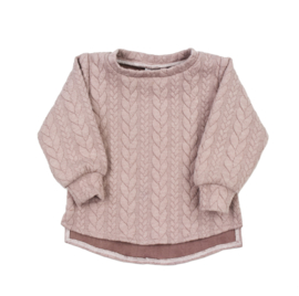 Sweater Split | Cable Misty Rose | 62 | SS