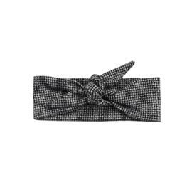 Haarband | Black & White Sparkle | Handmade