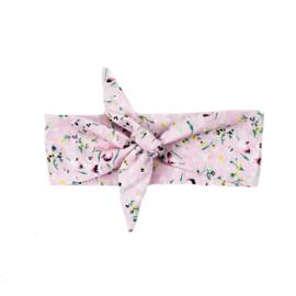 SS | Haarband | Flowerprint Light pink | M