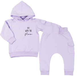 Hoodie suit with cargopocket | Go with the flow | 7 Colours