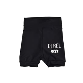 Baby zwembroekje | Black | Rebel Boy | Handmade