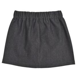 Skirt | Jeans | Black | Handmade