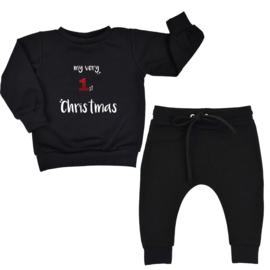 Joggingpak | My very 1st Christmas | Black