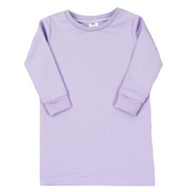T-Shirt Dress | Purple Rose | Handmade