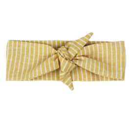 Haarband | Ochre Lines | Handmade