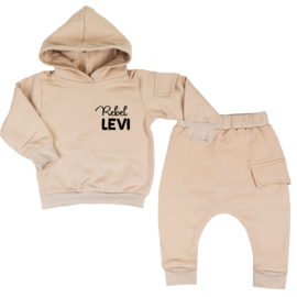 Hoodie Suit With Side Pocket| Rebel + Name | 6 Colours