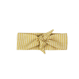 Haarband - Ochre Lines - Handmade