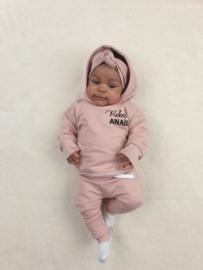 Hoodie pak | Rebel + Naam | Cloudy Pink