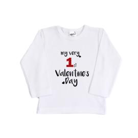 Valentijn shirt | My very 1st Valentine's Day