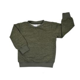 Sweater | Military Olive | Handmade