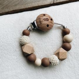 Speenkoord   Natural Wood