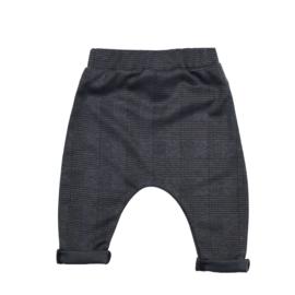 Harem Pants | Checkered Dark Grey | Handmade