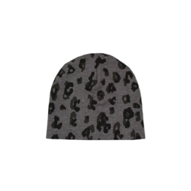SS | Beanie | Leopard Taupe | M