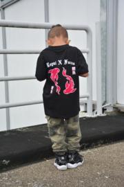 Oversized T-Shirt Kids | Unisex | Koi Fish Pink