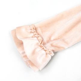 Dress Deluxe | Velvet | Baby Rose | Handmade