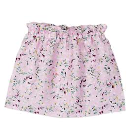 Paperbag Rokje | Flowerprint Light Pink | 86/92 | SS