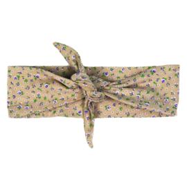 Haarband | Mini Flower Taupe | Handmade