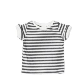 Shortsleeve | Stripes Grey | 68 | SS
