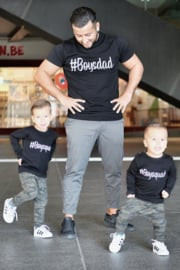 Twinning set - herenshirt & baby shirt - #Boysdad - #Boysquad