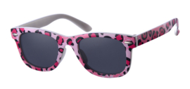 Zonnebril - D&D - Fashionista - Fuchsia leopard - 0 tot 4 jaar