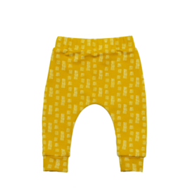Slim fit pants | Ochre Groove | Handmade