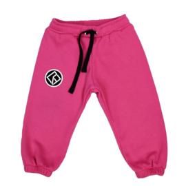 Royal Rebel | Oversized Sweatpants | Fuchsia Pink