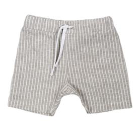 Shorts met touwtje | Linnen Sand Lines | Handmade