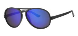 Zonnebril - D&D - Cool Kid - Black (Blue Revo) - 0 tot 4 jaar