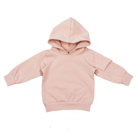Hoodie with fake pocket | Blush | Handmade