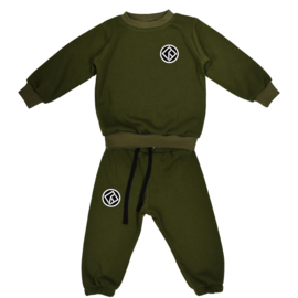 Royal Rebel Set | Sweater | Oversized | Army Green